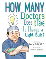 How Many Doctors Does It Take to Change a Light Bulb? Book Cover