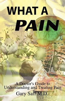What a Pain Book Cover Dr Gary Saff